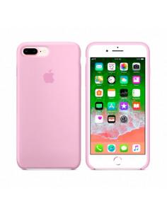 Чехол Silicone case (силикон кейс)  iPhone 7 / 8 Plus Light Pink