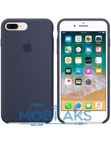 Чехол Silicone case (силикон кейс) iPhone 7 / 8 Plus Midnight Blue