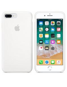 Чехол Silicone case (силикон кейс белый) iPhone 7/8 Plus White