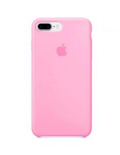 Чехол Silicone case (силикон кейс) iPhone 7/8 Plus Pink