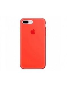 Чехол Silicone case (силикон кейс)  iPhone 7 / 8 Plus New Apricot