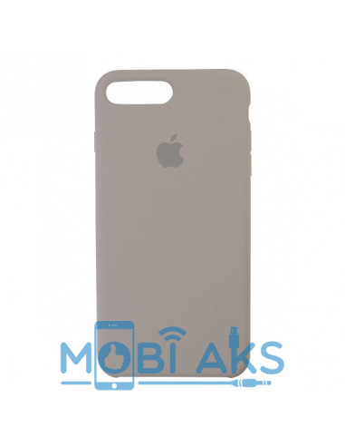 Чехол Silicone case (силикон кейс) iPhone 7 / 8 Plus Pebble