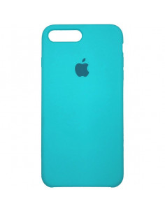 Чехол Silicone case (силикон кейс голубой) iPhone 7/8 Plus Royal Blue