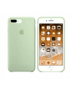 Чехол Silicone case (силикон кейс мятный) iPhone 7/8 Plus Mint