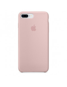Чехол Silicone case (силикон кейс пудра) iPhone 7/8 Plus Pink Sand