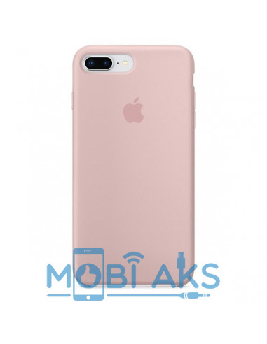 Чехол Silicone case (силикон кейс пудра) iPhone 7 / 8 Plus Pink Sand