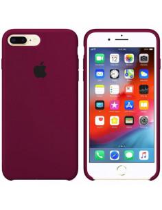 Чехол Silicone case (силикон кейс) iPhone 7/8 Plus Marsala