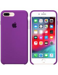 Чехол Silicone case (силикон кейс) iPhone 7/8 Plus Purple