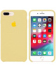 Чехол Silicone case (силикон кейс) iPhone 7/8 Plus Mellow Yellow