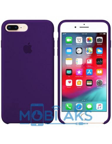 Чехол Silicone case (силикон кейс) iPhone 7 / 8 Plus Ultra Violet