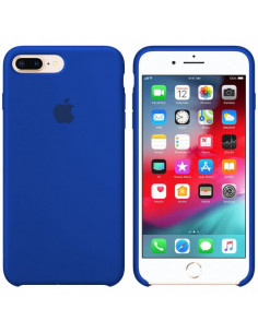 Чехол Silicone case (силикон кейс) iPhone 7/8 Plus Blue