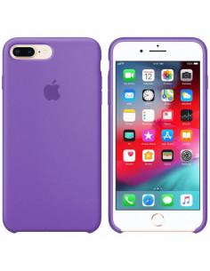 Чехол Silicone case (силикон кейс) iPhone 7 / 8 Plus Liac  (фиалка)