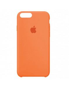 Чехол Silicone case (силикон кейс) iPhone 7/8 Plus Papaya