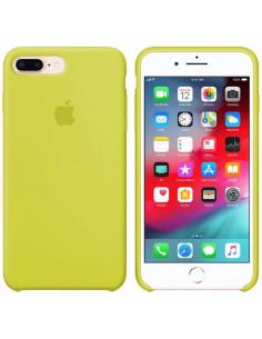 Чехол Silicone case (силикон кейс) iPhone 7/8 Plus New Yellow