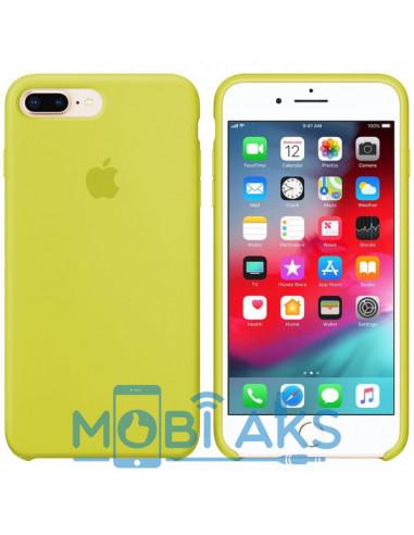 Чехол Silicone case (силикон кейс) iPhone 7 / 8 Plus New Yellow