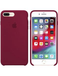 Чехол Silicone case (силикон кейс) iPhone 7/8 Plus Rose Red