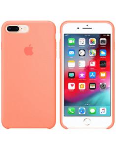 Чехол Silicone case (силикон кейс) iPhone 7/8 Plus Peach