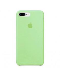 Чехол Silicone case (силикон кейс) iPhone 7/8 Plus Green