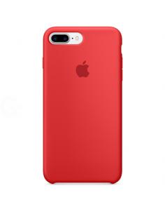 Чехол Silicone case (силикон кейс красный) iPhone 7/8 Plus Red