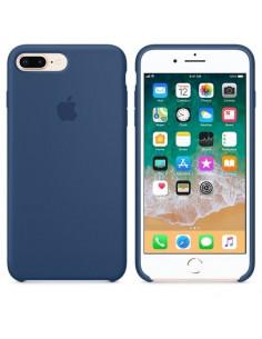 Чехол Silicone case (силикон кейс) iPhone 7/8 Plus Blue Cobalt