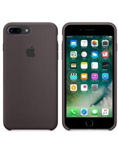 Чехол Silicone case (силикон кейс) iPhone 7/8 Plus Brown