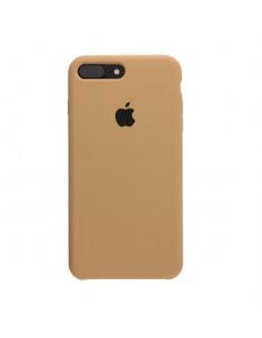 Чехол Silicone case (силикон кейс) iPhone 7/8 Plus Gold