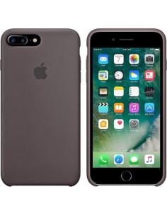 Чехол Silicone case (силикон кейс) iPhone 7/8 Plus Cocoa