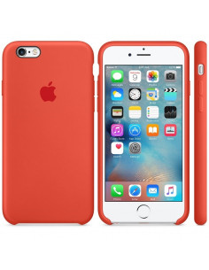 Чехол Silicone case (силикон кейс) для iPhone 6S Plus Orange