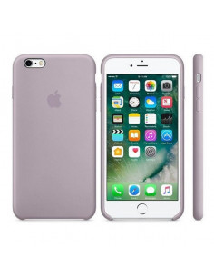 Чехол Silicone case (силикон кейс) iPhone 6S Plus Lavander