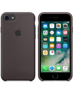 Чехол Silicone (силикон кейс) case для iPhone 7/8 Brown