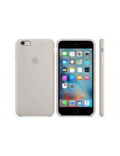 Чехол Silicone case (силикон кейс) iPhone 6S Plus Stone