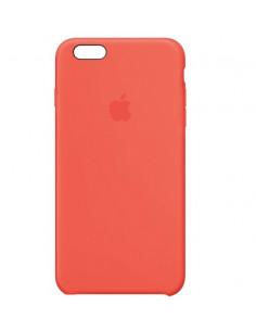 Чехол Silicone case (силикон кейс) iPhone 6S Plus New Apricot
