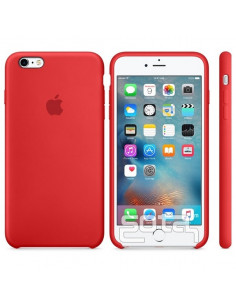 Чехол Silicone case (силикон кейс)  для iPhone 6S Plus Red