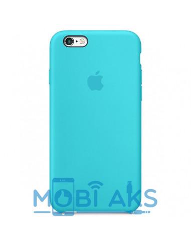 Чехол Silicone case (силикон кейс) iPhone 6S Plus Royal Blue