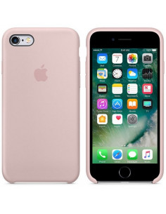 Чехол Silicone case (силикон кейс) iPhone 6S Plus Pink Sand