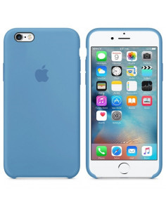 Чехол Silicone case (силикон кейс) iPhone 6S Plus Azure