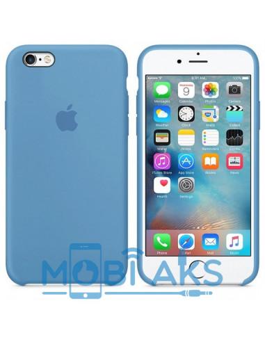 Чехол Silicone case (силикон кейс) iPhone 6S Plus Azure