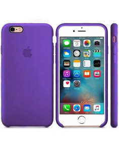 Чехол Silicone case (силикон кейс) iPhone 6S Plus Ultra Violet