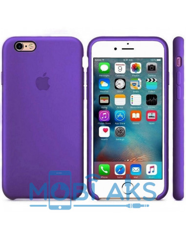 Чехол Silicone case (силикон кейс) iPhone 6S Plus Ultra Violet