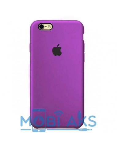 Чехол Silicone case (силикон кейс) iPhone 6S Plus Purple