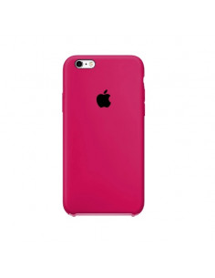 Чехол Silicone case (силикон кейс) iPhone 6S Plus Hot Pink