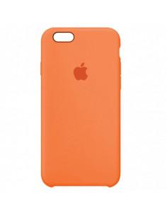 Чехол Silicone case (силикон кейс) iPhone 6S Plus Papaya