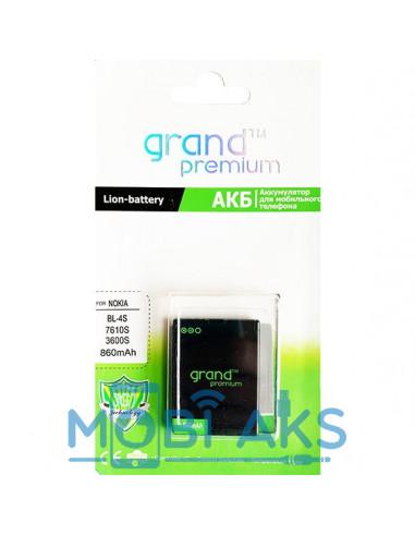 Аккумулятор Nokia BL-4S Grand Premium (850 мАч)