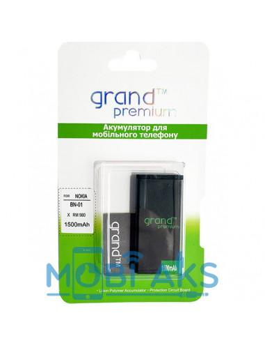 Аккумулятор Grand BN-01 для Nokia X / X Plus (1500 мАч)