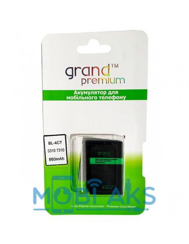 Аккумулятор Grand Premium Nokia BL-4CT ( Nokia 6700 slid, Nokia 7210)