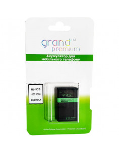 Аккумулятор Grand nokia BL-5CB (Nokia 1616, 1280, 1800)