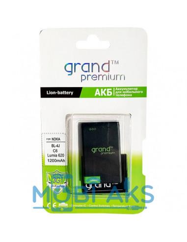 Аккумулятор Grand Premium Nokia BL-4J (Nokia C6-00, Lumia 610, Lumia 620, Nokia 600)