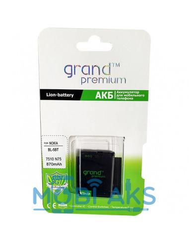 Аккумулятор Grand Premium Nokia BL-5BT (Nokia 2600 classic, Nokia 7510 Supernova, Nokia N75)