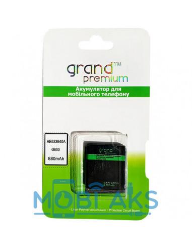 Аккумулятор Samsung G600 (AB533640AU)...