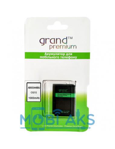 Аккумулятор Samsung C5212 (AB553446B) Grand Premium (1000 мАч)